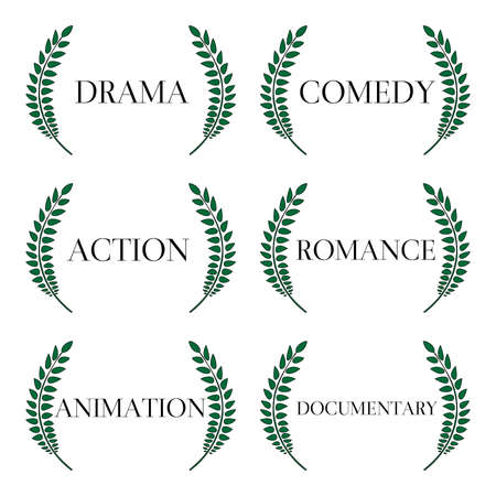 Film Genres 1 Vector