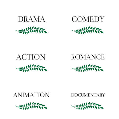 Film Genres 3 Vector