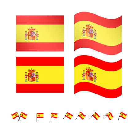 compatriot: Spain Flags EPS 10