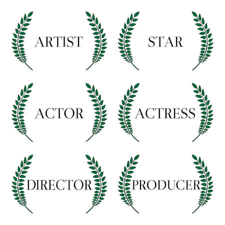 Film Stars Laurels 1 Vector