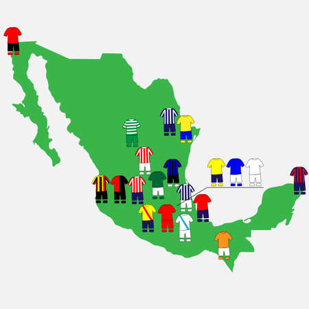 qualify: Mexican League Clubs Map
