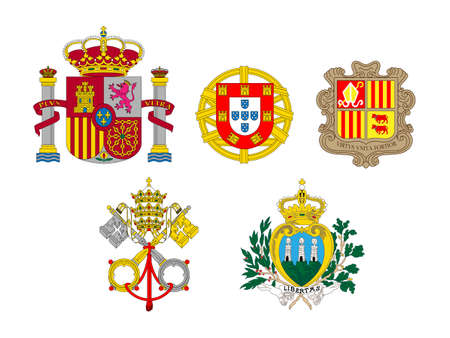 compatriot: Coats of Arms of European Flags