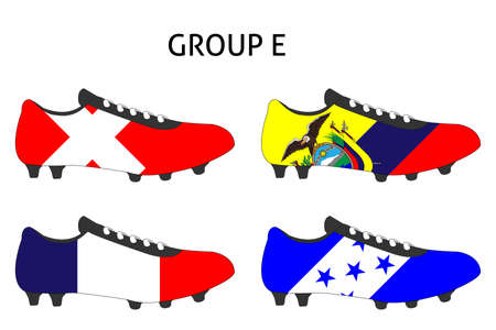 cleats: Brazil 2014 Cup Cleats Group E