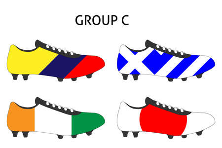 cleats: Brazil 2014 Cup Cleats Group C