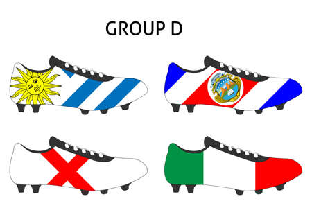 cleats: Brazil 2014 Cup Cleats Group D