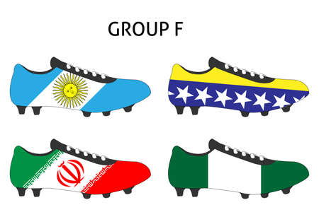 cleats: Brazil 2014 Cup Cleats Group F