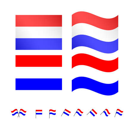 the netherlands: Netherlands Flags