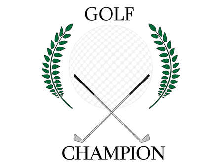 albatross: Golf Champion Illustration