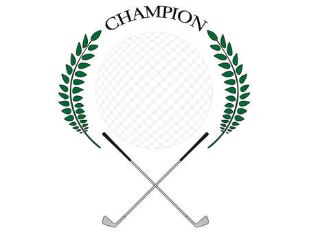 Golf Champion 2 Vector