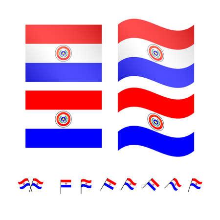 compatriot: Paraguay Flags