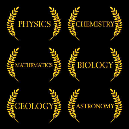 Science Laurels 2 Vector