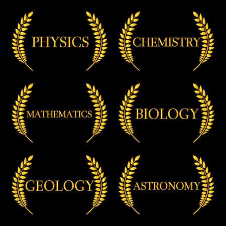 nobel: Science Laurels 2 Illustration