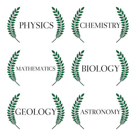Science Laurels 1 Vector