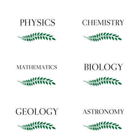 Science Laurels 3 Vector