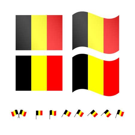 compatriot: Belgium Flags  Illustration