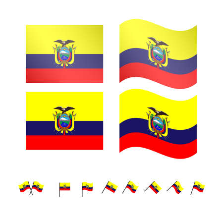 guayaquil: Ecuador Flags
