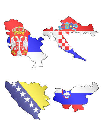 compatriot: Europe Maps with Flags 11