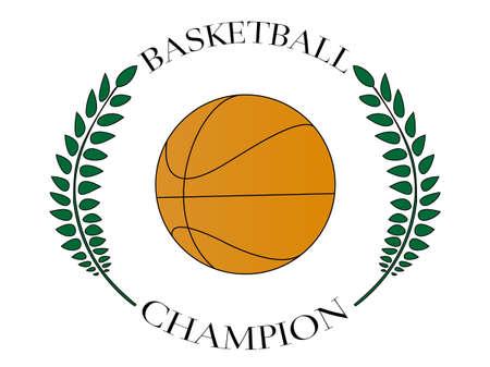 Basketball Champion 3 Stock Vector - 34351490