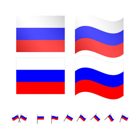 compatriot: Russia Flags EPS10