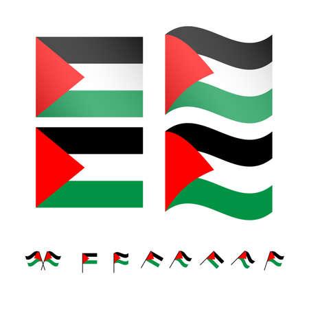 compatriot: Palestine Flags EPS10