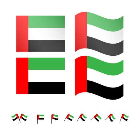 compatriot: United Arab Emirates Flags EPS10