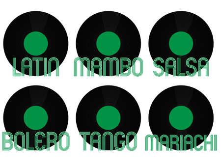 genres: Latin Music Genres Vinyl 4