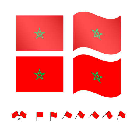berber: Morocco Flags EPS10