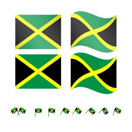 compatriot: Jamaica Flags EPS 10