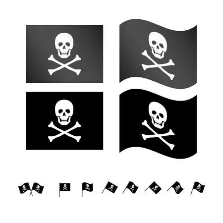 scallywag: Pirate Flags EPS 10