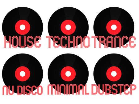 electronic music: Electronic Music Generi Vinyl 2