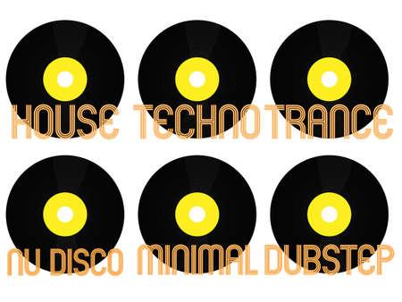 electronic music: Electronic Music Generi Vinyl 3