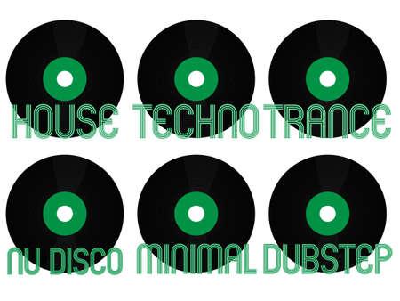 electronic music: Electronic Music Generi Vinyl 4