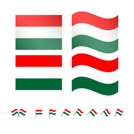 compatriot: Hungary Flags EPS 10