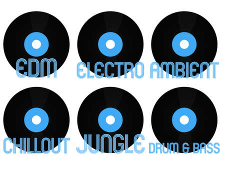 musica electronica: Electronic Music G�neros Vinilo 5