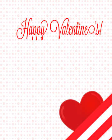 infatuation: Happy Valentines Letter with Heart