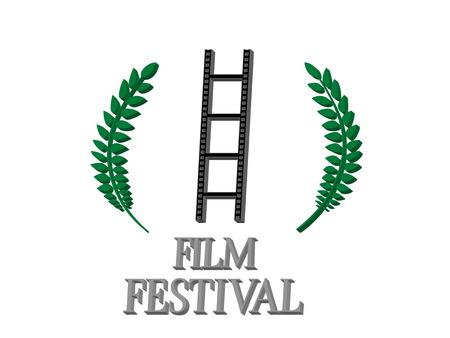 famous actress: Film Festival 3D 4 Illustration