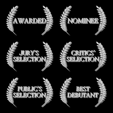 nominations: Film Awards and Nominations 3D 5 Illustration
