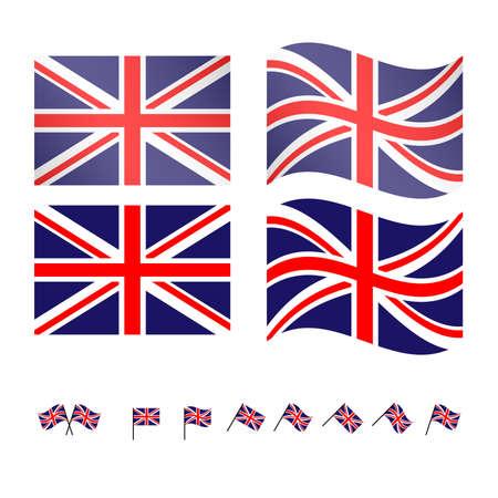 compatriot: United Kingdom Flags 2 EPS10