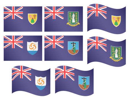 windward: Caribbean Flags