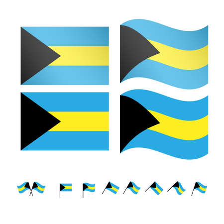 end of the world: Bahamas Flags
