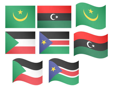 berber: African Flags