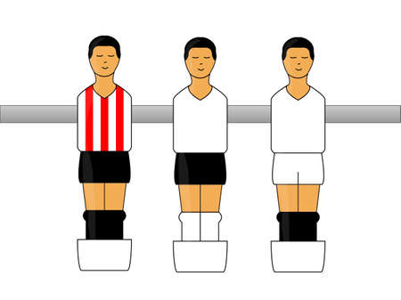 bilbao: Table Football Figures with Spanish League Uniforms