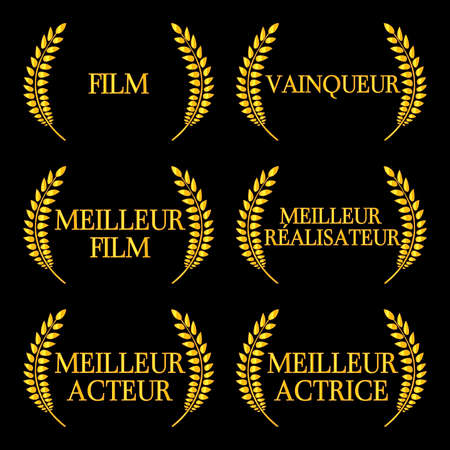 red carpet: Film Winners Laurels in French 2