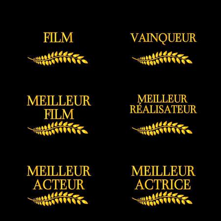 feature films: Film Winners Laurels in French 4