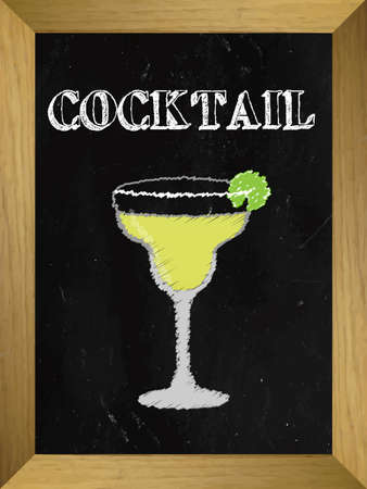 shooter drink: Cocktail on a Chalkboard List 2