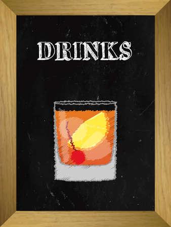 cosmo: Drinks on a Chalkboard List 2