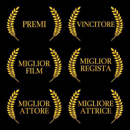 famous actress: Film Winners Laurels in Italian 2