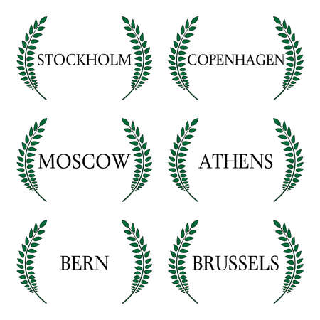 european: Laurel Wreaths European Capitals 5