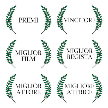 famous actress: Film Winners Laurels in Italian 1