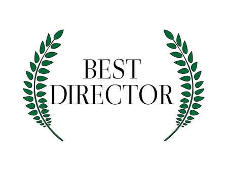 Best director Laurel 1 Illustration